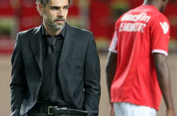 Marco Simone, coach de l'AS Monaco