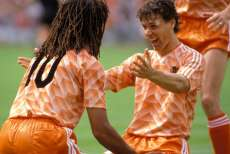 Marco van Basten (Hollande) a inscrit un but d'anthologie lors de l'Euro 88