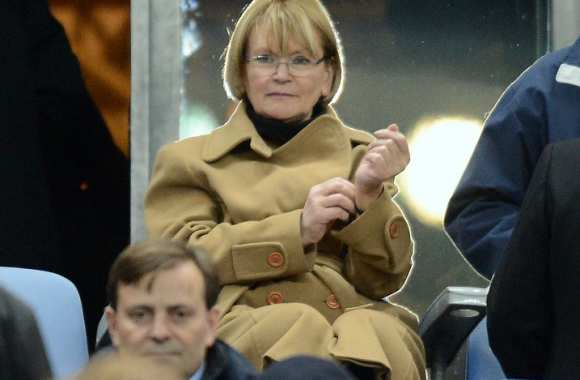 Marie-George Buffet au Stade de France