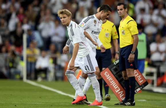 Martin Ødegaard remplace Cristiano Ronaldo