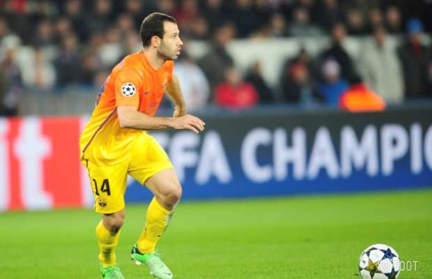 Mascherano out six semaines