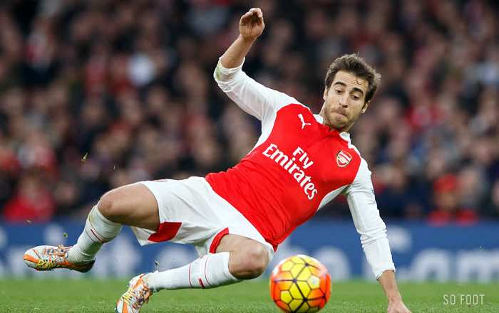 Mathieu Flamini à Crystal Palace