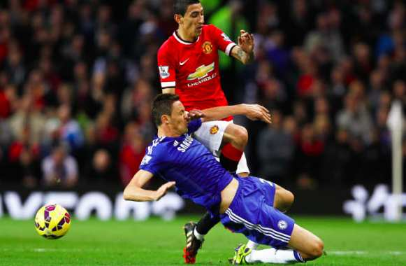 Matic (Chelsea) vs Di Maria (United)
