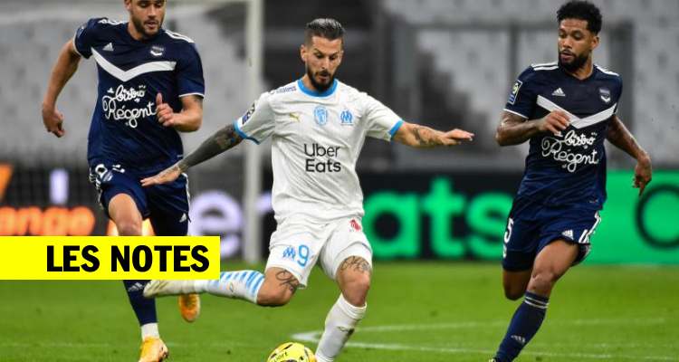 Les notes de Marseille-Bordeaux / Ligue 1 / J7 / OM-Bordeaux (3-1) / SOFOOT.com