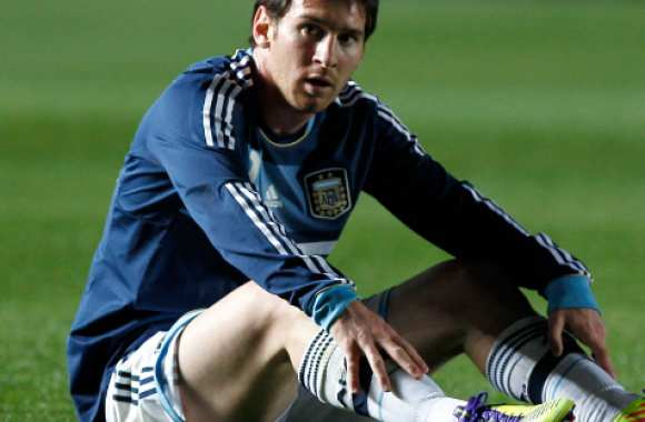 Messi capitaine de l'Argentine