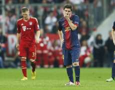 Messi hagard face au Bayern Munich