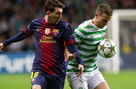 Messi : « La place du Celtic est en Ligue des champions »