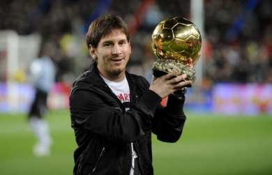 Messi & le Ballon d'Or