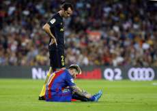 Messi out trois semaines
