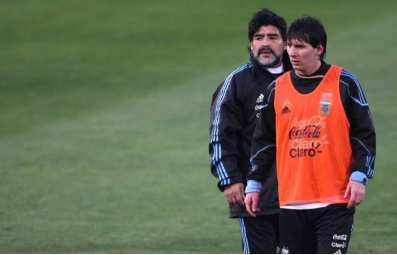 Messi plus fort que Maradona
