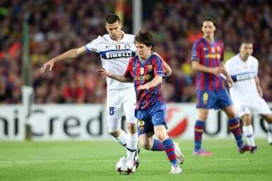 Messi rembarre l'Inter