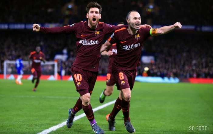 Messi sort le Barça de la mouise à Stamford Bridge