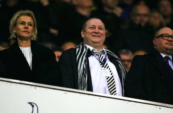 Mike Ashley et sa femme Linda