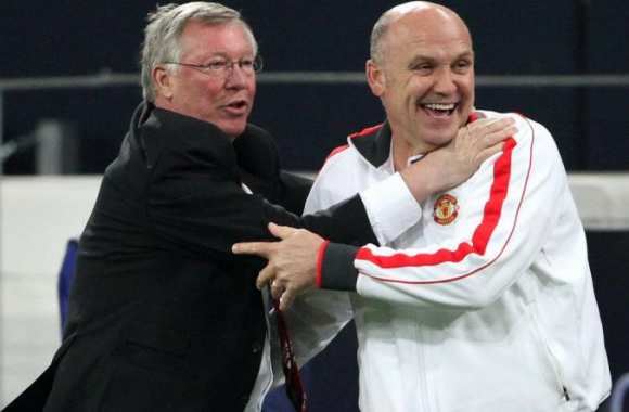 Mike Phelan, avec Sir Alex Ferguson