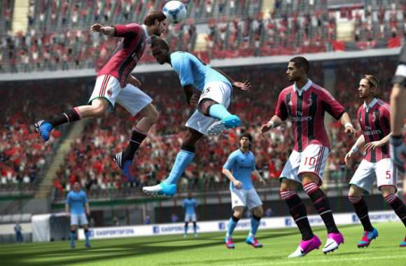 Milan AC-Manchester City version FIFA 13