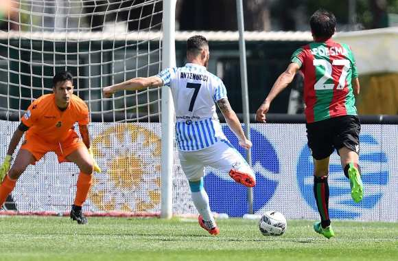 Mirco Antenucci (crédit photo : Spal)