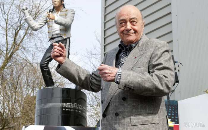 Mohamed Al-Fayed, le supporter devenu gestionnaire