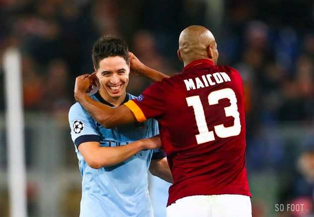 Nasri veut finir à City