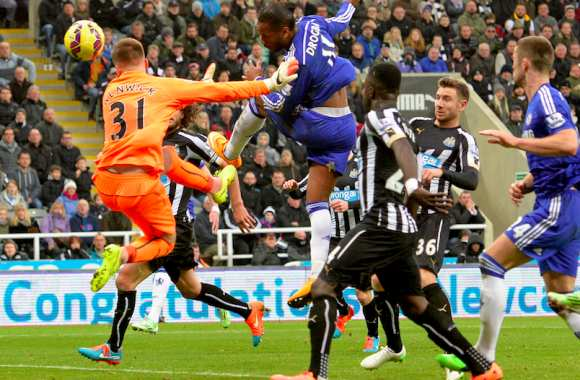 Newcastle-Chelsea, le week-end dernier