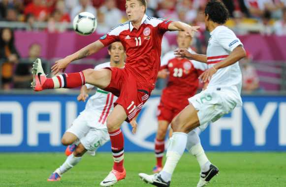 Nicklas Bendtner (Danemark)