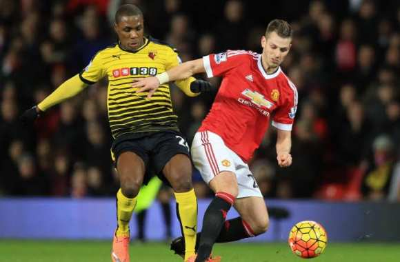Odion Ighalo et Morgan Schneiderlin
