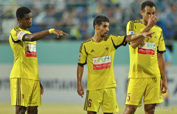 On a l'air de bien se marrer, � l'Anzhi