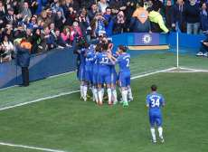 On était à Chelsea – Manchester