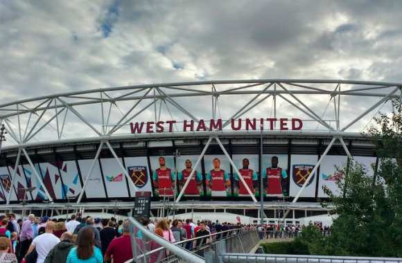 On était à l'inauguration du nouveau stade de West Ham