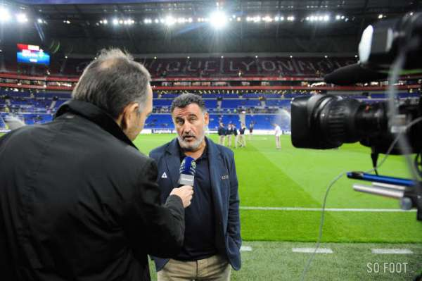 On était au premier derby au Parc OL