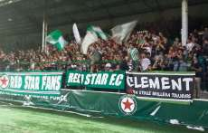 On était au retour du Red Star à Bauer
