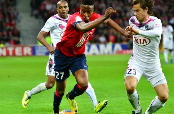 Origi (Lille) vs Orban (Bordeaux)