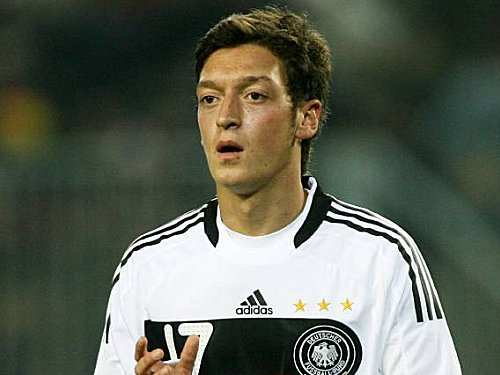 Ozil au Real Madrid en 2011