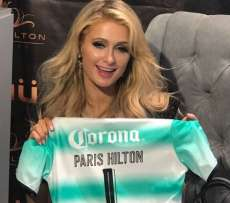 Paris Hilton supportrice d'un club Mexicain