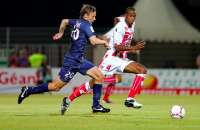Clement Chantome (Paris Saint-Germain) contre Ricardo Faty (Ajaccio)