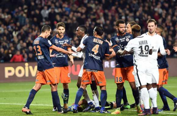 Paris prend une fess e montpellier ligue 1 france - Logo montpellier foot ...
