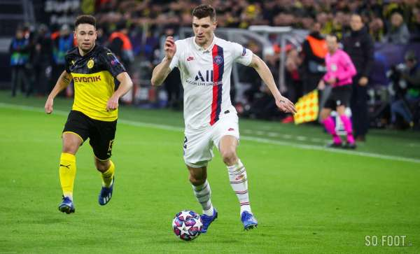 Pas de prolongation au Paris Saint-Germain pour Thomas Meunier, qui file au Borussia Dortmund