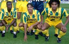 Patrice Loko, FC Nantes, saison 94-95, entre Makelele et Karembeu