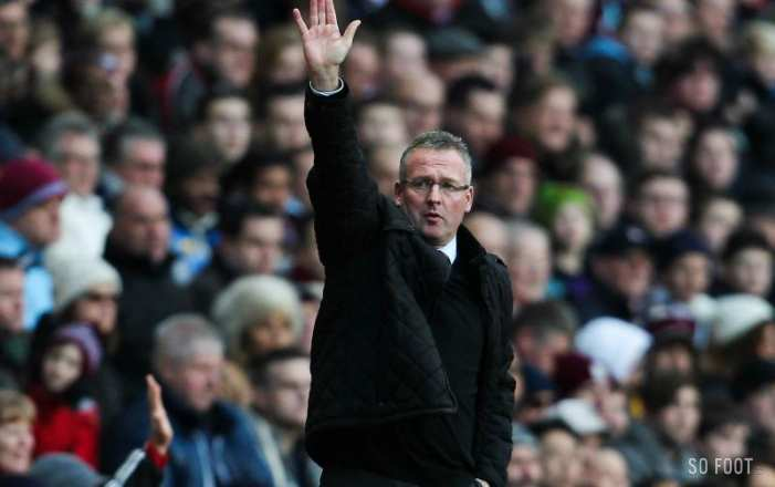 Paul Lambert nouvel entraîneur de Stoke City