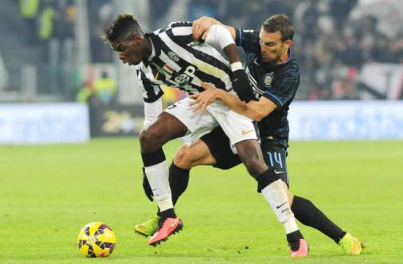 Paul Pogba, contre l'Inter