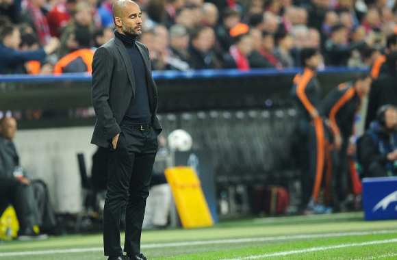 Pep Guardiola, coach du Bayern Munich