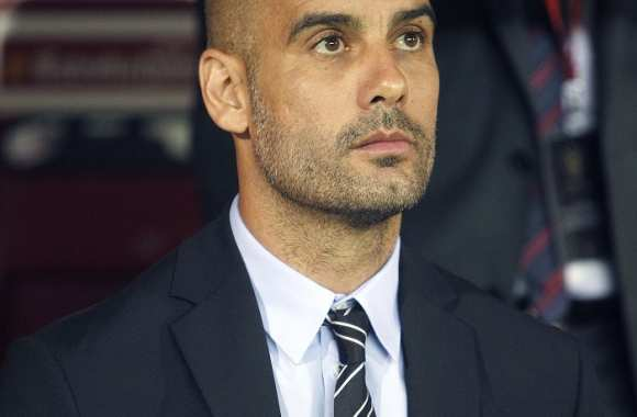 Pep Guardiola du temps du FC Barcelone