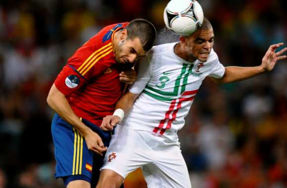 Pepe contre Negredo