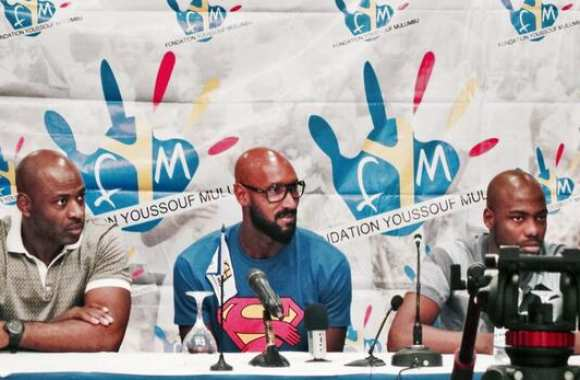 Photo : Anelka en Superman