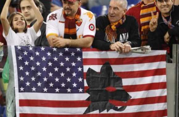 Photo : AS Roma en mode Yankee