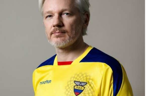 Photo : Assange supporte l'Équateur