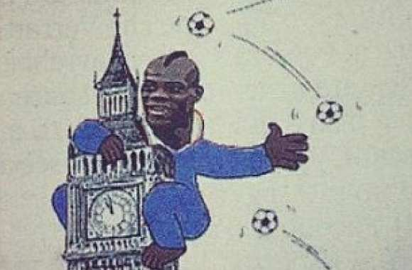 Photo : Balotelli en King Kong