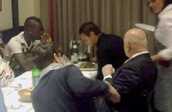 Photo : Balotelli et Galliani