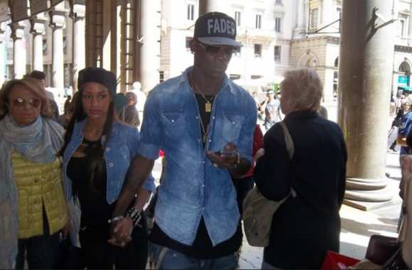 Photo : Balotelli et son ex à Milan