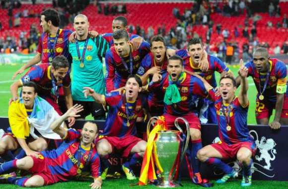 Photo : Barcelone, champion d'Europe