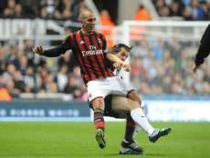 Photo : Barton tacle Di Canio